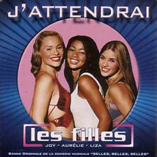 CD SINGLE Les FILLES - Claude FRANCOIS J'attendrai 2t ☆
