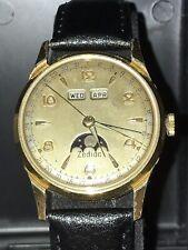 Antique Zodiac Triple-Date Moonphase Manual-Wind Watch