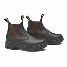 Mountain Horse Protective Jodhpur BOOTS Brown With Steel Toe Cap European Size 38