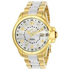 INVICTA MEN'S SIGNATURE GOLD-TONE STEEL BRACELET & CASE AUTOMATIC WATCH 7088S