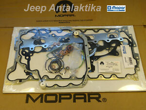 Engine Gasket Kit Jeep Wrangler JK 2.8CRD 2007-2010 68032196AA New Genuine Mopar