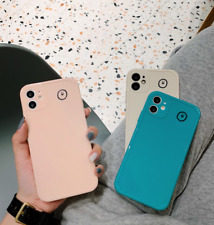 Smile Soft Phone Case For iPhone 7 11 Pro XS MAX X SE20 XR 8 6 Plus Simple Cover