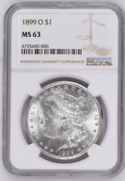1899 O NGC MS 63 $1 SILVER DOLLAR MORGAN ROTATE