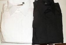 Camicie classiche da uomo in cotone bianco