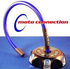 FACTORY ARME FUEL / GAS TANK VENT HOSE - BLUE HONDA CR125 CR250 CR500 MOTOCROSS