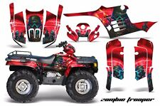 AMR Racing ATV Graphic Kit Polaris Sportsman 500 Decal Sticker 95-04 ZOMBIE RED