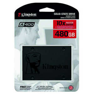 Gigabyte or Kingston 480 GB SSD Hard Drive - NEW