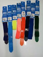 "Adjustable Baseball Softball Belt Youth  18""-34"" Waist you pick assorted colors"