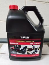 YAMALUBE 10W40 1 GALLON OF YAMAHA OIL 10 W 40 LUB-10W40-AP-04 NIB NEW YZF R