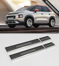 Citroen C3 Aircross Stainless Sill Protectors / Kick Plates