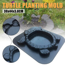 Turtle Planting Mould Wall Brick Stepping Pave Mold Concrete Cement Garden Decor