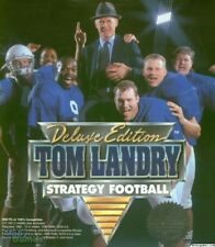 TOM LANDRY STRATEGY FOOTBALL DELUXE +1Clk Windows 10 8 7 Vista XP Install