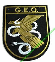 PARCHE INSIGNIA TELA POLICIA GEO SPANISH POLICE SPECIAL FORCES 30500 M3
