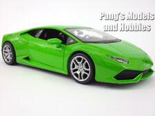 Lamborghini Huracan 1/24 Scale Diecast Metal Model by Maisto - Green