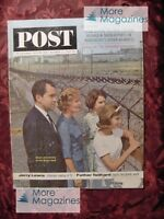 Saturday Evening POST October 12 1963 10/12/63 JERRY LEWIS RICHARD NIXON +++