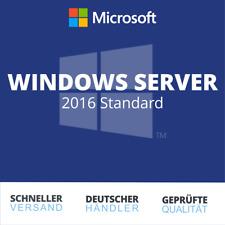 Microsoft Windows Server 2016 Standard | Retail | Vollversion | Deutsch