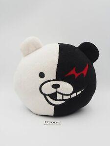 "Super Danganronpa B3004 Monokuma Remote Phone Stand Plush 5"" Toy Doll Japan"