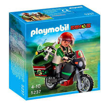 PLAYMOBIL Dinos - Explorer with Motorbike/Motorcycle Set 5237 BNIB 4-10 yrs
