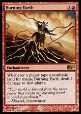 Burning Earth FOIL | NM | M14 | Magic MTG