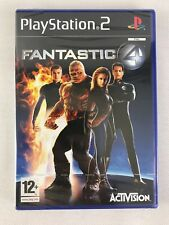 PS2 Fantastic Four (2005), UK Pal, Brand New & Factory Sealed