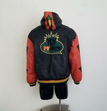 RARE Vintage 1992 MTV Leather Jacket 90s Yo MTV Raps Hip Hop Sz. L