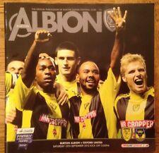 Burton Albion v Oxford United - Div 2 Football Programme - Played 15/09/2012