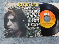 """Bob Dylan  - Stuck Inside Of Mobile.../Rita May -  Dutch Picture Sleeve PS 7"""""""