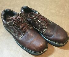 Dr. Doc Martens #9272 Brown Leather Hiking Work Boot Men's Size US 5M 6L England