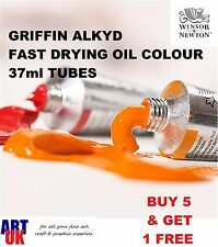 Winsor & Newton GRIFFIN ALKYD Fast Drying Artists Oil Colour 37ml Paint Tubes