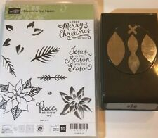 Stampin' UP! REASON FOR THE SEASON With Matching FESTIVE FLOWER Punch Bundle