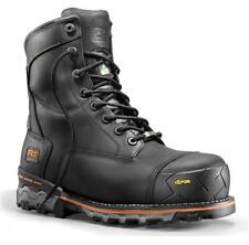 """TIMBERLAND 8"""" BOONDOCK INSULATED WORK BOOT (BLACK) SIZE 8 to13 WIDE"""