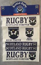 Unopened Scottish Rugby Sticker Pack