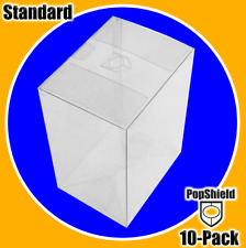 """10-PACK FUNKO POP SHEILD! BOX PROTECTOR BOXES for 4"""" VINYL FIGURES CRYSTAL"""