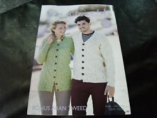 HAYFIELD BONUS ARAN KNITTING PATTERN 8101 81/86 - 132/137 CMS