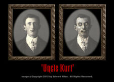 Uncle Kurt 5x7 Haunted Memories Changing Portrait Halloween Lenticular Monster