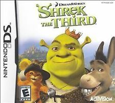 Shrek the Third Nintendo DS *Cartridge Only* Usually ships in 12 hours!!!!