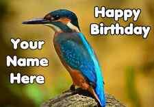 Kingfisher Happy BirthdayCard  codexc Personalised greetings cards