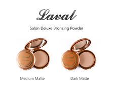 Laval Salon Deluxe Bronzing Powder - Medium Matte or Dark Matte