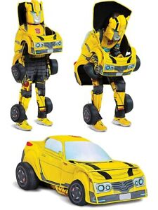 Child's Transformers Bumblebee Converting Costume Small 4-6