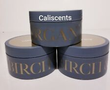Birch Argan Bath and Body Works 6.5oz New Body Butter X3 NEW & DISCONTINUED