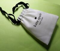 Kate Spade New York Jewelry Beauty POUCH Gift Cosmetic BAG ivory black white