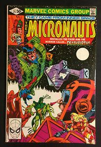 MICRONAUTS 25 KEY ORIGIN OF BARON KARZA DEATHBIRD PAT BRODERICK V 1 SPIDER-MAN