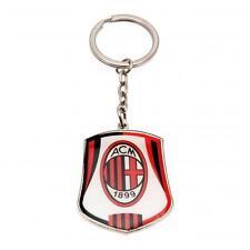 A.C Milan - Metal Crest Keyring - GIFT