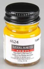 Testors Model Master Paint 4624 Turn Signal Amber 1/2 oz