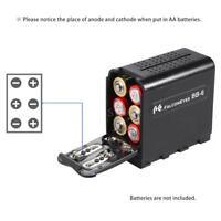 BB-6 6pcs AA Battery Pack Case Holder for LED Video Light Monitor U3G0