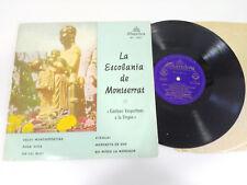 "DER ESCOLANIA DE MONTSERRAT GESÄNGE 'NABEND ROHLING LP 10"" VINYL 1964 VG/VG"