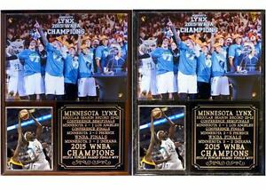Minnesota Lynx 2015 WNBA Champions Photo Plaque Sylvia Fowles MVP