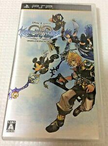 Used PSP Kingdom Hearts Birth by Sleep Japanese Ver.