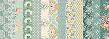 Aus meiner Restekiste: Stoffpaket TILDA Pardon My Garden Teal Spring - Patchwork