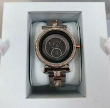 Michael Kors Access MKT5040 Smartwatch Sofie TwoTone Rose Gold Pave Diamond $395